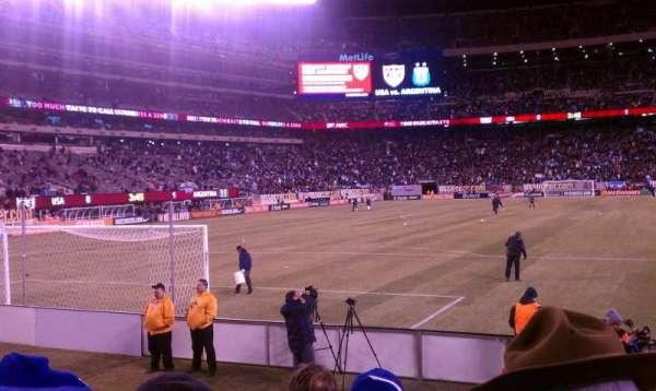 MetLife Stadium, section: 123, row: 5, seat: 15