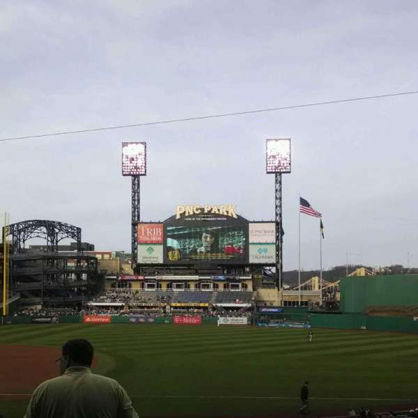 PNC Park, section: 107, row: n, seat: 15