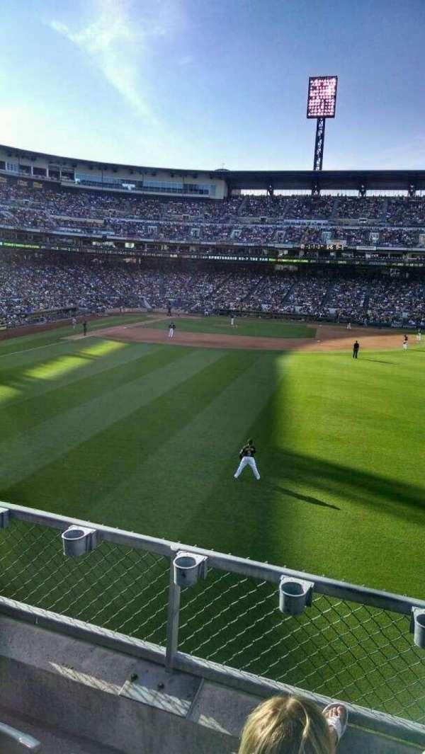 PNC Park, section: 143, row: C, seat: 3