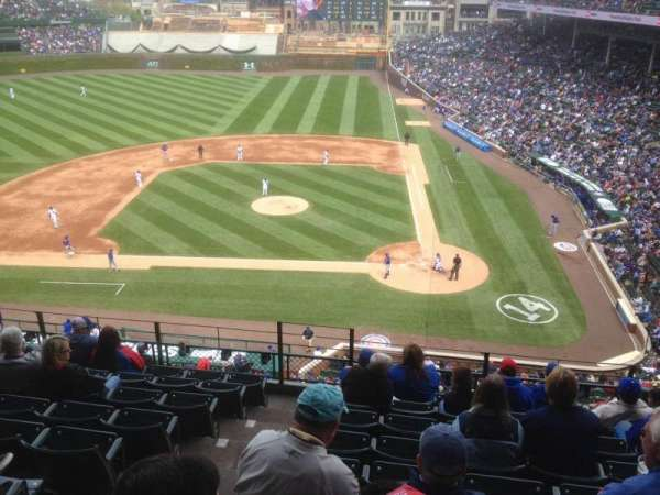 Wrigley Field, section: 313L, row: 7, seat: 1