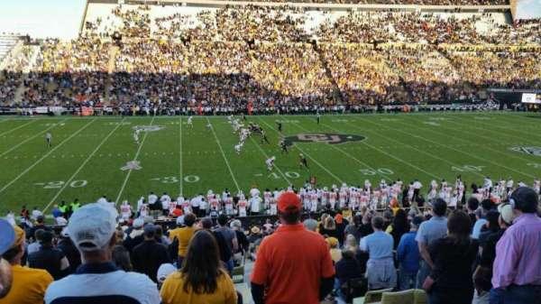 Folsom Field, section: 104, row: 36, seat: 33