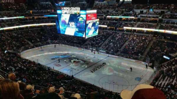 Pepsi Center, section: 374, row: 10, seat: 2