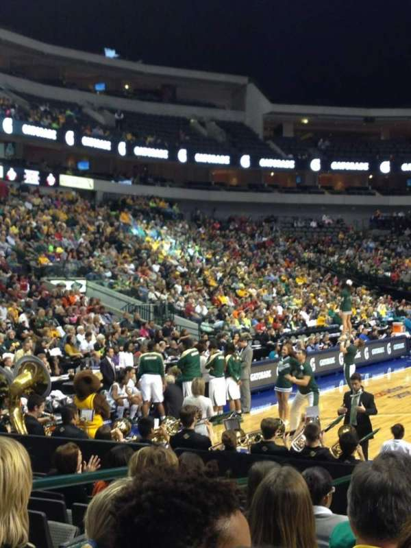 American Airlines Center, section: 112, row: B, seat: 9