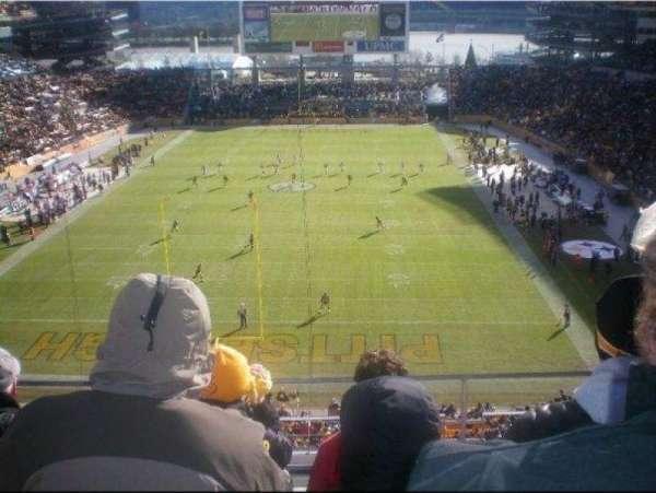 Heinz Field, section: NC-009