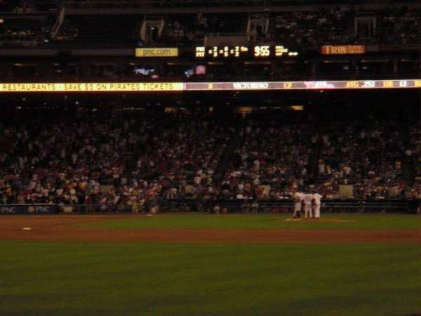 PNC Park, section: 133, row: 4