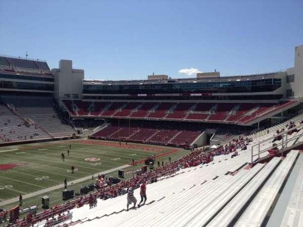 Razorback Stadium, section: 106, row: 44, seat: 20