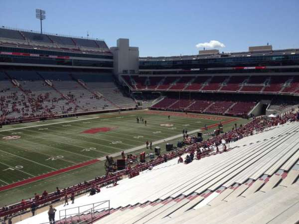 Razorback Stadium, section: 107, row: 44, seat: 20