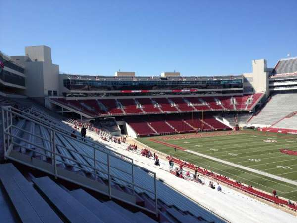 Razorback Stadium, section: 111, row: 44, seat: 20