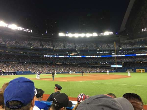 Rogers Centre, section: 114R, row: 4, seat: 9