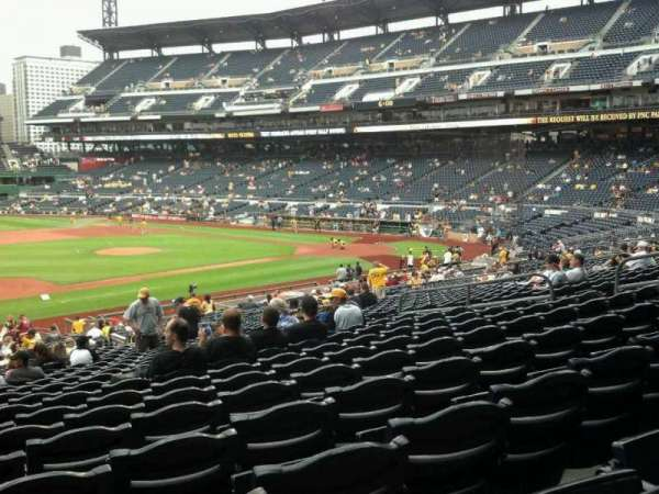 PNC Park, section: 125, row: Y, seat: 16