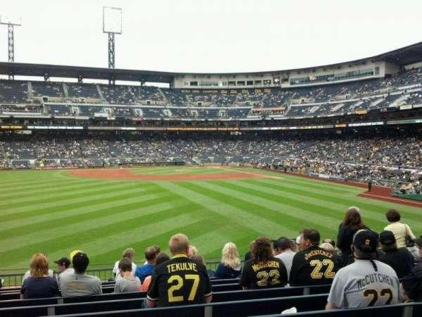 PNC Park, section: 135, row: H, seat: 18