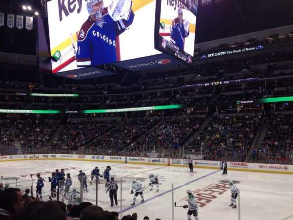 Pepsi Center, section: 146, row: 12, seat: 6