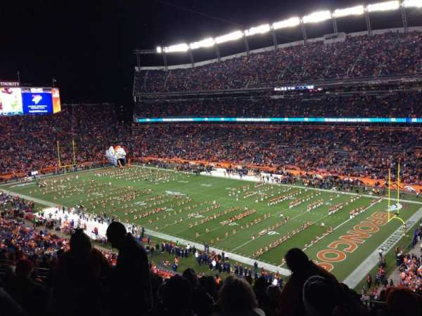 Broncos Stadium at Mile High, section: 330, row: 17, seat: 4
