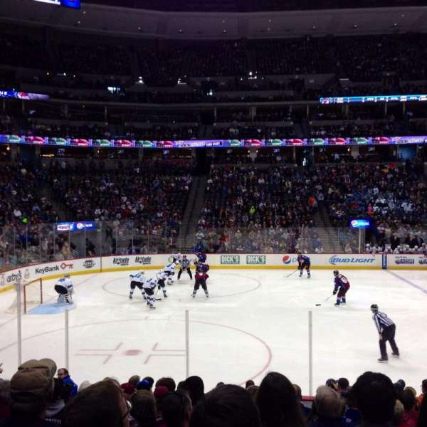 Pepsi Center, section: 128, row: 13, seat: 9