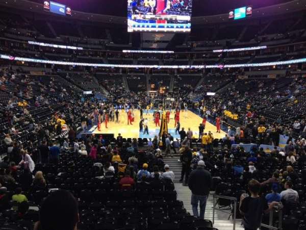 Ball Arena, section: 138, row: 15, seat: 3