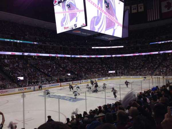 Pepsi Center, section: 130, row: 11, seat: 10