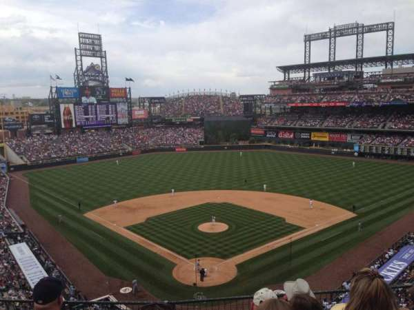 Coors Field, section: L330, row: 5, seat: 7