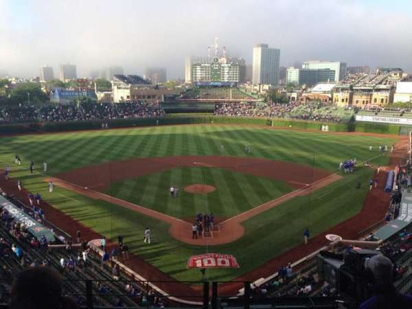 Wrigley Field, section: 421, row: 5, seat: 106