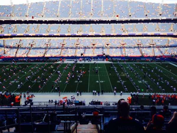 Broncos Stadium at Mile High, section: 308, row: 14, seat: 18