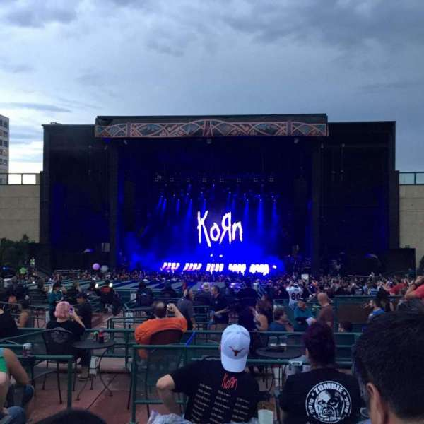 Fiddler's Green Amphitheatre, section: 203, row: J, seat: 218
