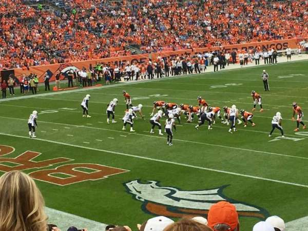Broncos Stadium at Mile High, section: 128, row: 25, seat: 37
