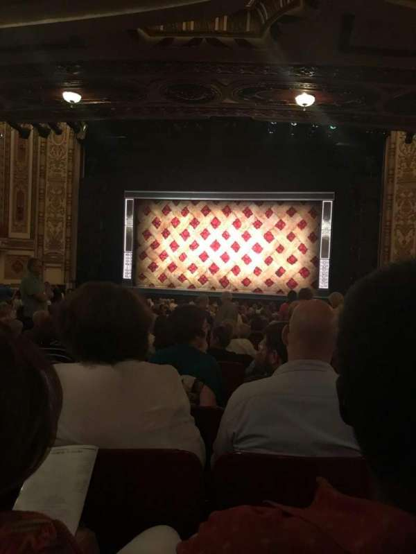 Cadillac Palace Theater, section: Orchestra C, row: X, seat: 20