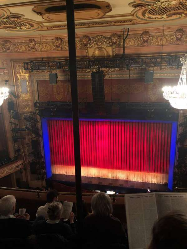 Longacre Theatre, section: Balcony C, row: E, seat: 102