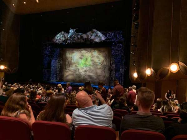 San Jose Center For The Performing Arts, section: ORCR, row: 19, seat: 47