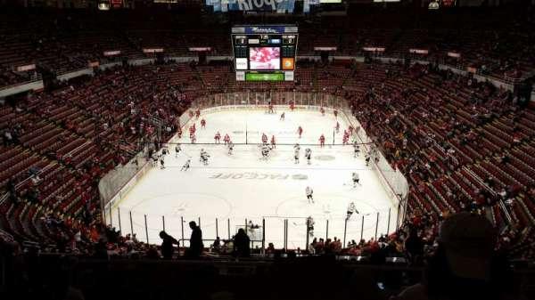 Joe Louis Arena, section: 214, row: 18, seat: 10