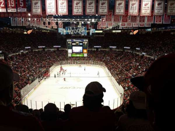 Joe Louis Arena, section: 214, row: 18, seat: 11