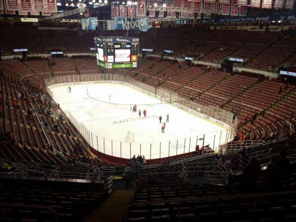 Joe Louis Arena, section: 216b, row: 18, seat: 15