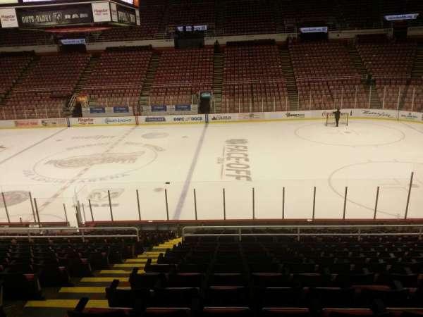 Joe Louis Arena, section: 106, row: 18, seat: 15