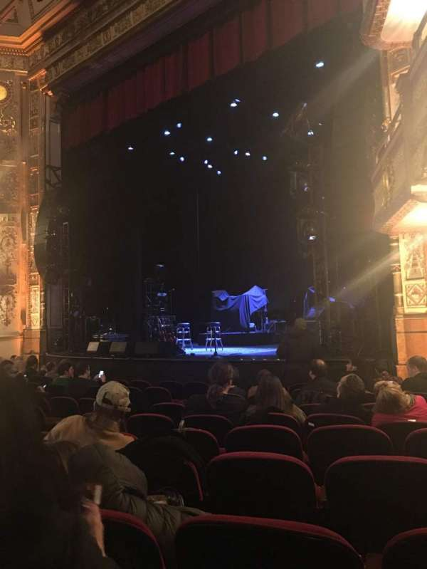 The Apollo Theater, section: R ORCH, row: J, seat: 17