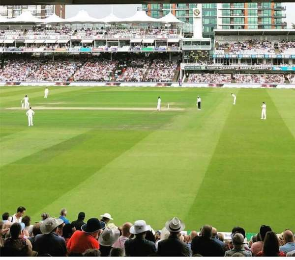 Lord's Cricket Ground, section: Grand Stand Lower Tier: Block 11, row: 19, seat: 44