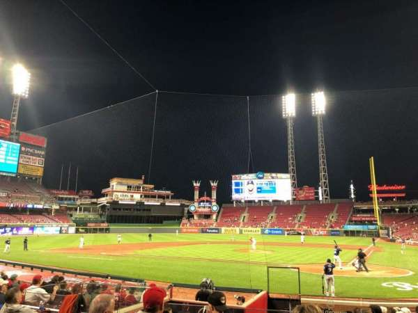Great American Ball Park, section: 120, row: R, seat: 6