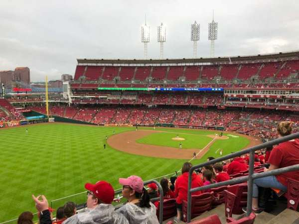 Great American Ball Park, section: 410, row: H, seat: 4