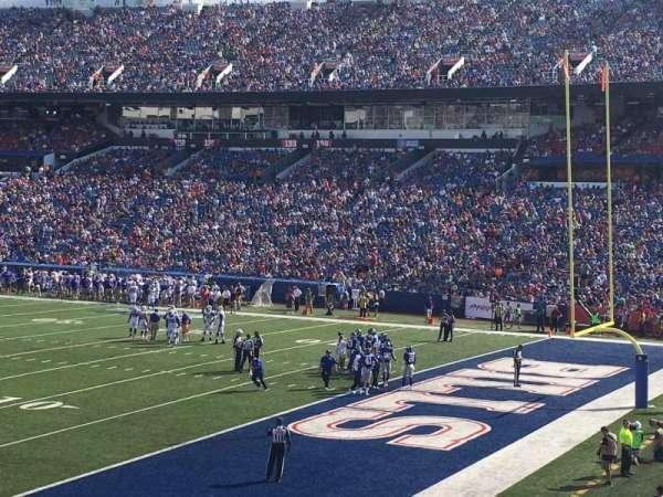Buffalo Bills Stadium, section: 106, row: 7, seat: 4