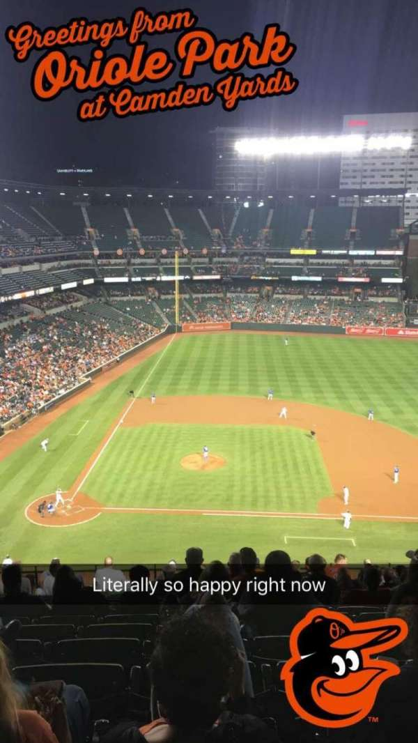 Oriole Park at Camden Yards, section: 322, row: 18, seat: 11