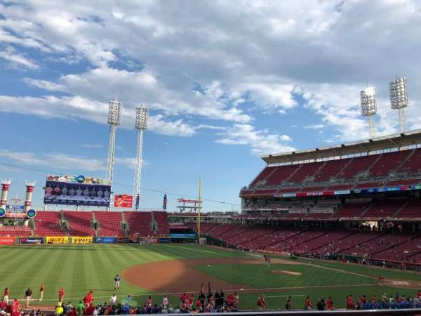 Great American Ball Park, section: JACK, row: GA, seat: 6