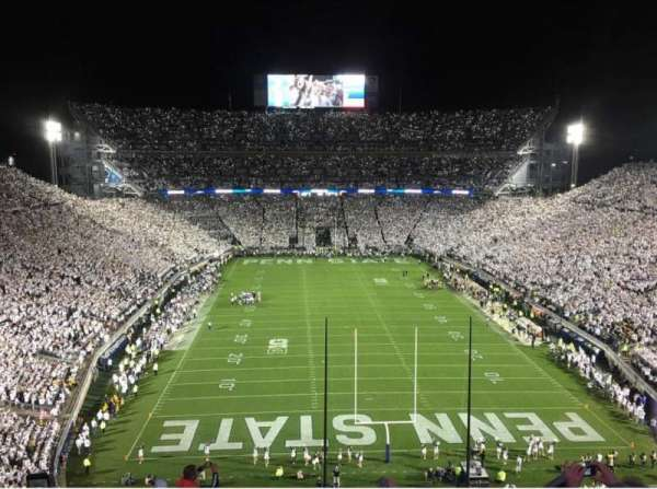Beaver Stadium, section: NGU