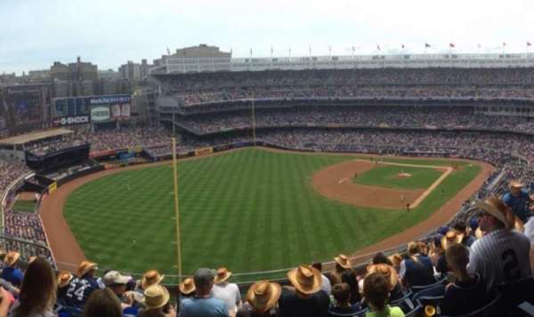 Yankee Stadium, section: 432A, row: 7, seat: 8