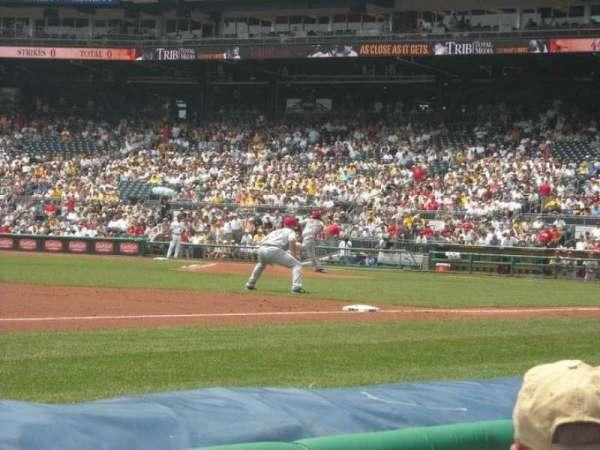 PNC Park, section: 25, row: 1, seat: 9