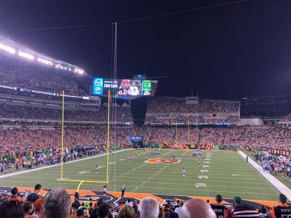 Paul Brown Stadium, section: 152, row: 30, seat: 10