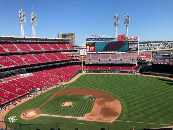 Great American Ball Park, section: 531, row: H, seat: 14