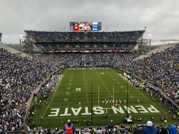 Beaver Stadium, section: NGU, row: 71, seat: 17