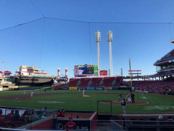 Great American Ball Park, section: 120, row: P, seat: 8