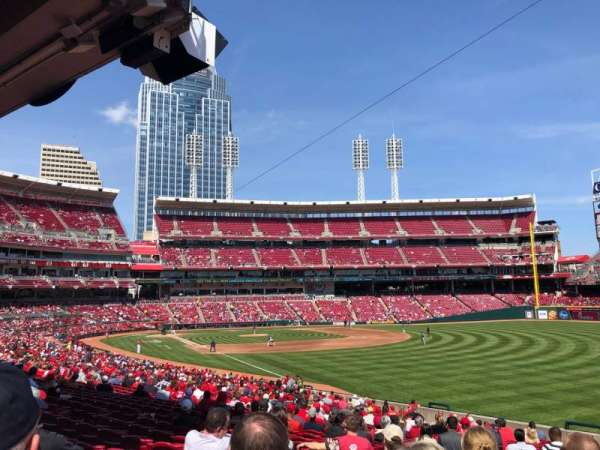 Great American Ball Park, section: 137, row: JJ, seat: 1