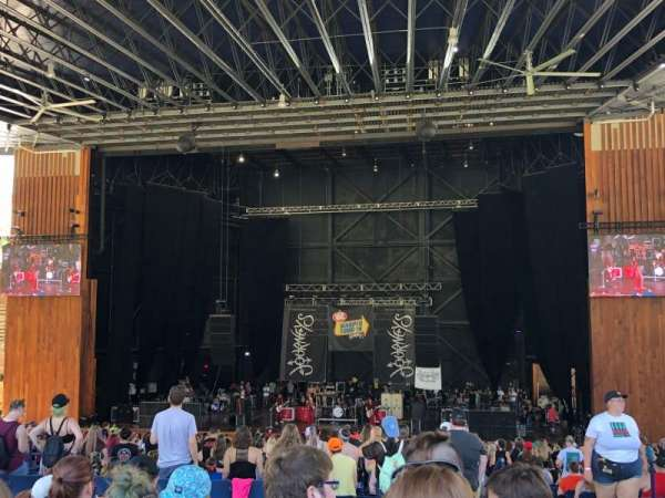 Merriweather Post Pavilion, section: GA