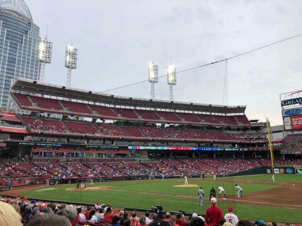 Great American Ball Park, section: 132, row: S, seat: 12