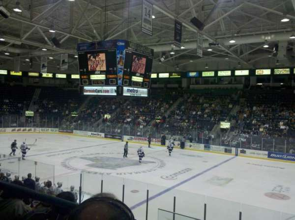 Hertz Arena, section: 119